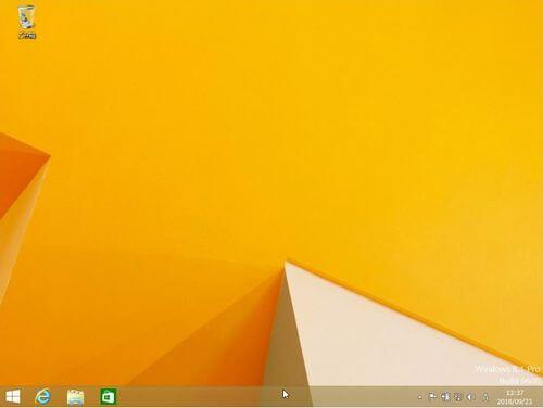 Windows8の画面の画像