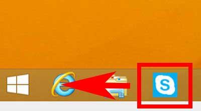 タスクバーのアイコンを左クリックした画像