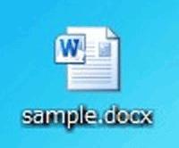 ワードファイルの画像
